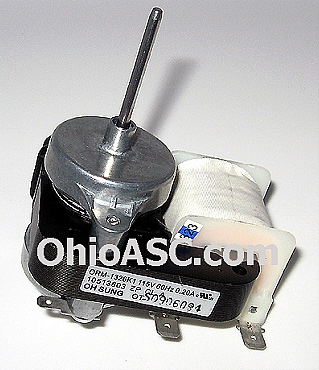 10513803 evaporator fan motor maytag whirlpool kenmore for Kenmore refrigerator fan motor