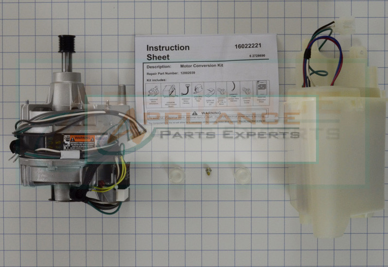 12002039 washer motor replacement maytag neptune for Maytag neptune motor control board repair