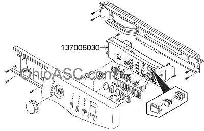 frigidaire affinity washer parts manual