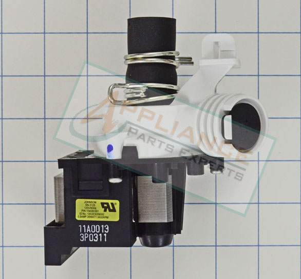 154580301 dishwasher pump frigidaire kenmore for How to test a washer drain pump motor