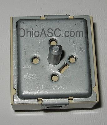 316238201 Electric Range Burner Switch Kenmore Frigidaire