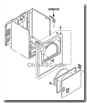 345 Ge Washer Wjsr2070b2ww Schematic as well Whirlpool Range Wiring Harness additionally Whirlpool Double Door Fridge Wiring Diagram together with Amana Stove Wiring Diagram further T530028 Lg  bi microwave oven. on ge dryer door switch wiring diagram