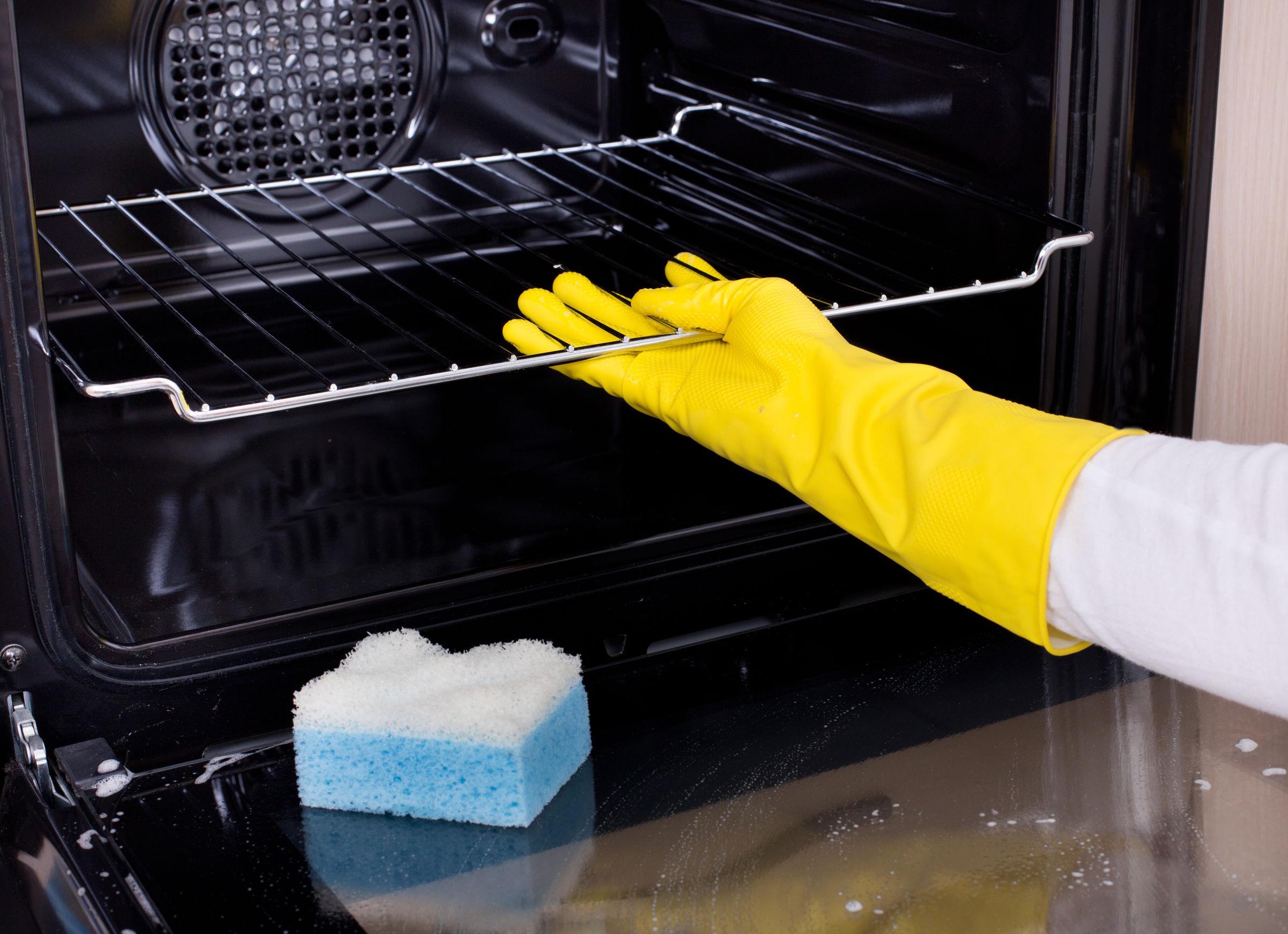 Способы очистки духовки 23
