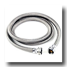 stainless steel braided washer fill hose. Black Bedroom Furniture Sets. Home Design Ideas