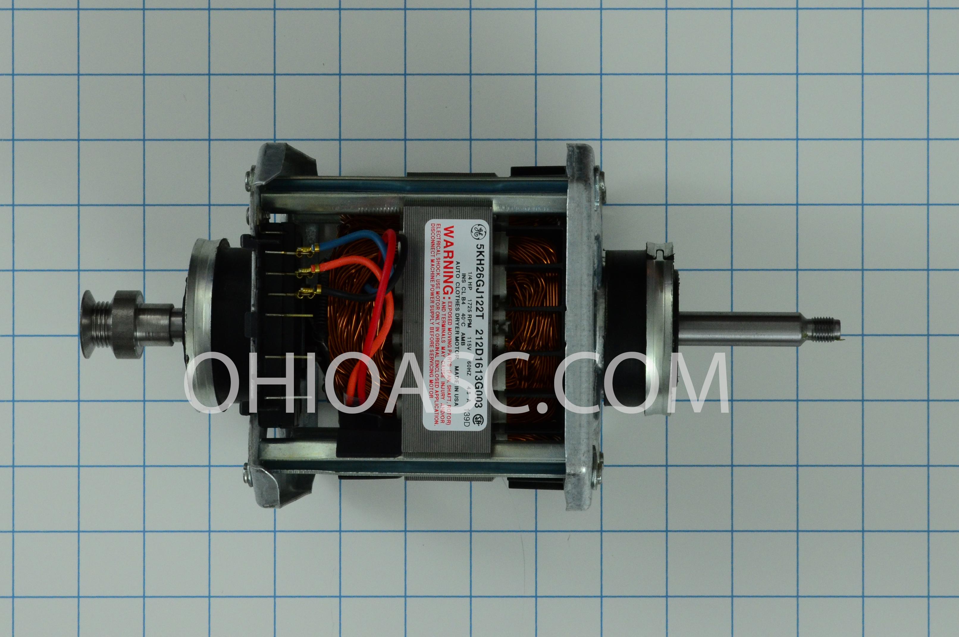 We17m37 Dryer Motor Ge Hotpoint Kenmore