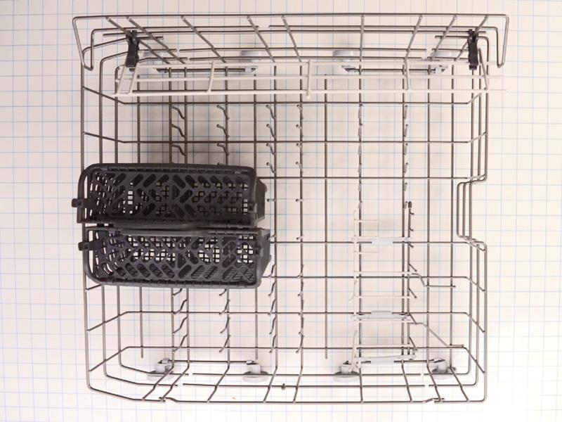 W10280784 Whirlpool Dishwasher lower dishrack W10120556 99003219 W10120557