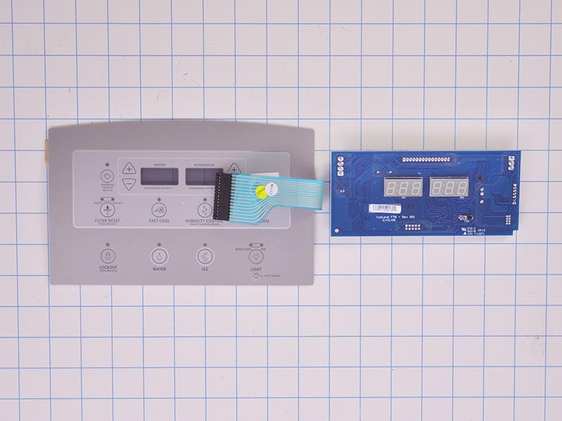 Refrigerator Electronic Control Board W10740218 Ap5953018