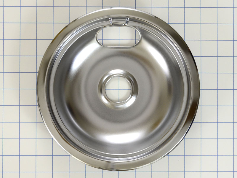 Wb32x106 Chrome Burner Drip Pan