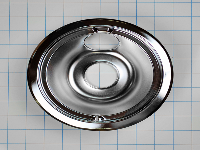 Wb32x5075 Ge Hotpoint Chrome Burner Drip Pan Small