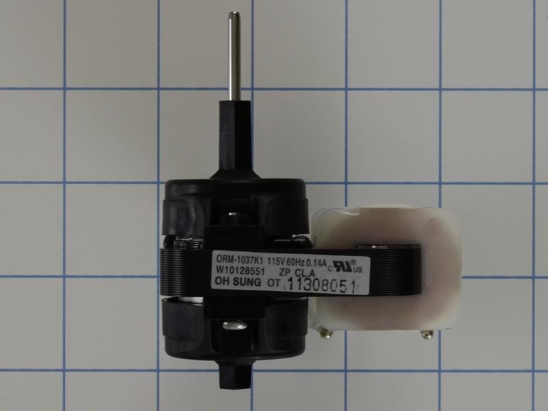 W10128551 Refrigerator Evaporator Motor