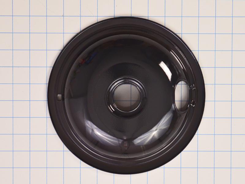 W10290350 Black 8 Inch Drip Pan