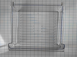 WP2218132K Refrigerator Clear Meat Pan / Drawer- AP6006679, PS11739755