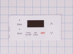 316220728 - Range Oven Control Overlay - AP6248310, PS12114508