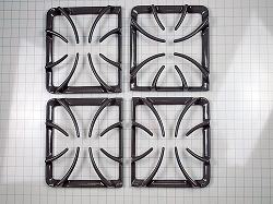 318221612 Gray Range Burner Grate Kit (Set of 4)