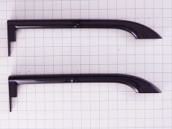 5304506471 Refrigerator Black Door Handle Set