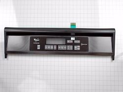 WP8300435 Black Wall Oven Control Panel AP6012603 PS11745813