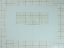 WP9762476 White Glass Range Oven Door Panel AP6014129 PS11747363