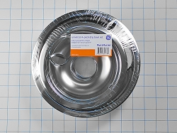 GE68C Range Chrome Drip Pan Kit (Set of 4)