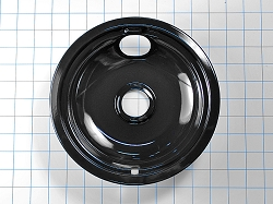 W10290350RW Range/Oven Large Black Drip Pan - AP4513898, PS2580462