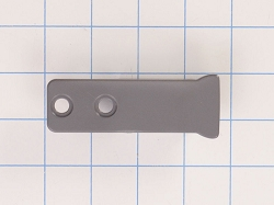 W10917049 Refrigerator Door Handle Grey End Cap