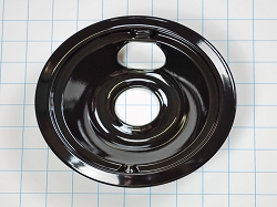 WB31M20 Range Small Black Burner Drip Pan
