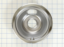 WB31T10010 Range/Oven Small Chrome Drip Pan