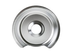 WB32X5036 - Large Chrome Range Drip Pan