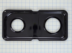WB34K10009 Gas Range Black Double Drip Pan (Right)