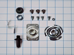 WE25X205 Dryer Shaft & Bearing Kit