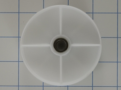 WP6-3037050 Dryer White Idler Wheel