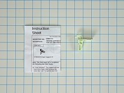 WP61005050 Refrigerator Crisper Support Repair Kit
