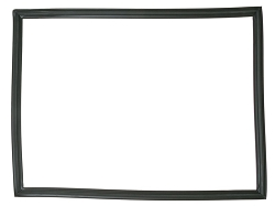WR14X10177 - Black Refrigerator Freezer Door Gasket