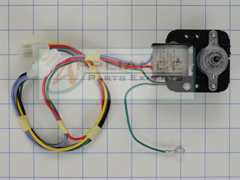 5303918549 refrigerator evaporator fan motor