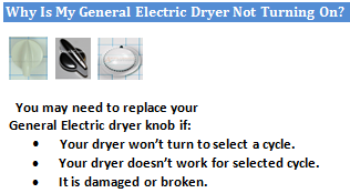 Why Is My General Electric Dryer Not Turning On The Most Common Reason Your Could Be Or