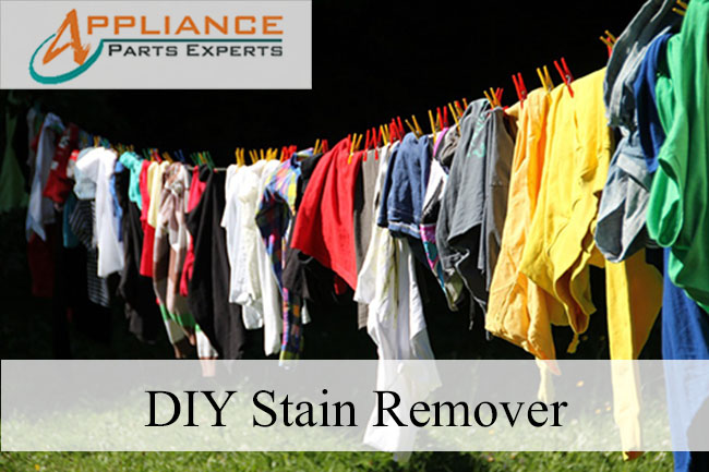 Get rid of stubborn stains with DIY stain remover