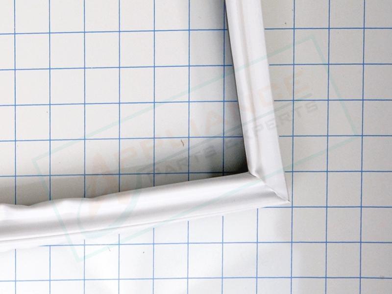 White Refrigerator Door Gasket W10443315 W10571962