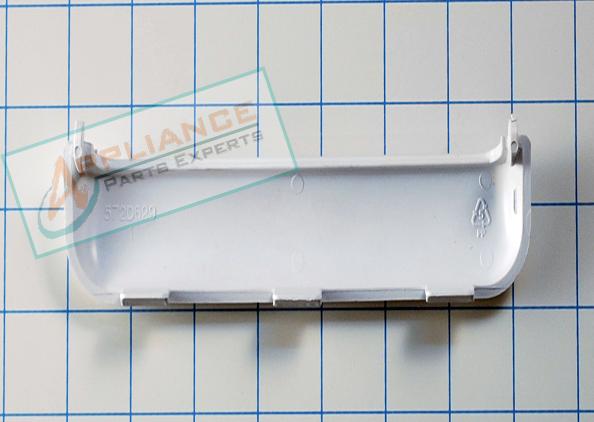 We1m463 White Dryer Door Handle Ge