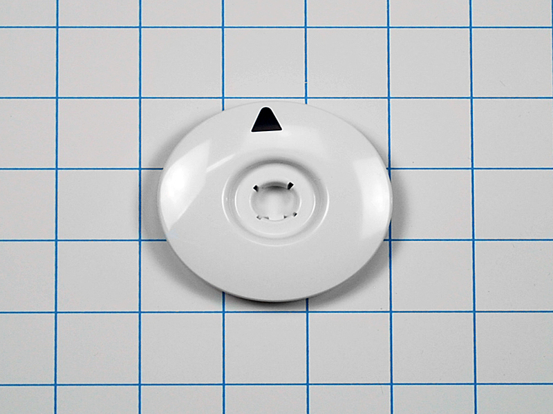 Wh11x10049 Ge Washer White Timer Dial Assembly