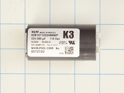 wp8572720 Washer Start Capacitor AP6013435 PS11746661