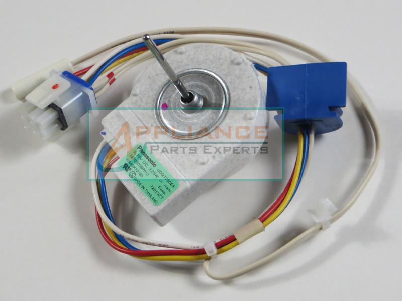 Wr60x10185 evaporator fan motor ge hotpoint general for General electric fan motor