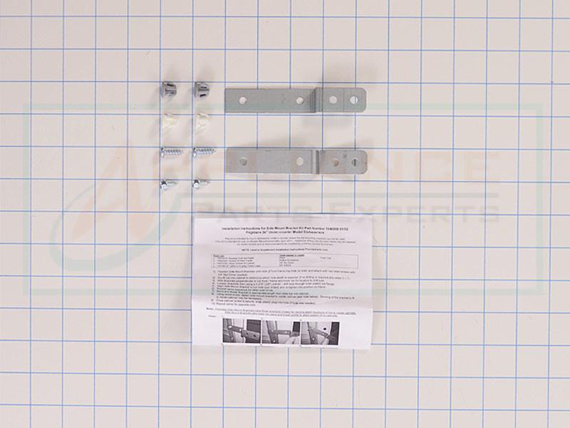 Dishwasher Side Mounting Bracket Kit Ap5645425 Ps4705063