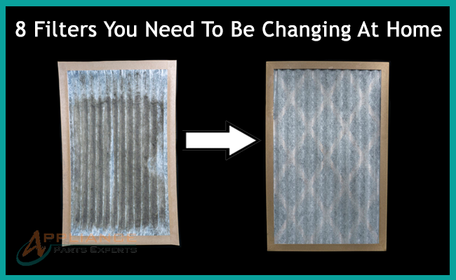 8 Filters You Need To Be Changing At Home