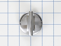 WP7733P410-60 Gas Oven Stainless Steel Burner Knob