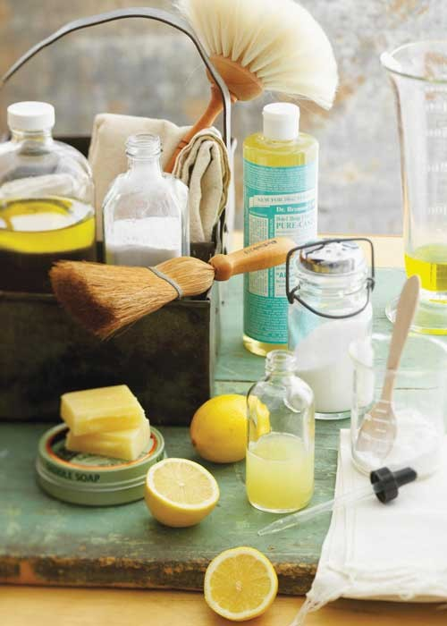 Naturally Deep clean your Kitchen with these DIY Cleaners