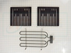 12001882 - Range Grill Element and Grate Assembly - AP4010075, PS2003410