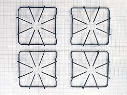 12500055 Gas Range Black Burner Grate Kit