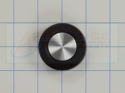 WP3362624 Black Washer Timer Knob
