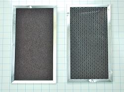 6800 Microwave Charcoal Filter 2-Pack - AP3115349, PS382960, 832619