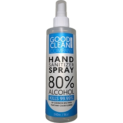 GCSPR-008 Hand Sanitizer Spray - 8 oz. Bottle