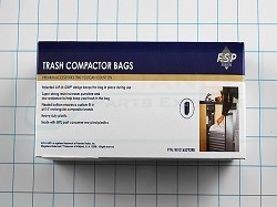 W10165292RB Plastic Compactor Bags AP4318980 PS2329118